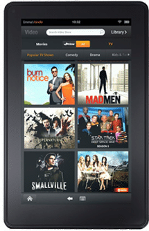 Buy the Kindle Fire e-reader tablet from Amazon.com