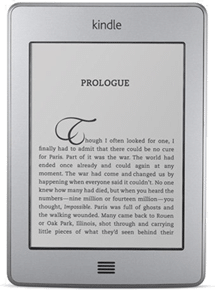 Buy the Amazon Kindle Touch E-book Reader From Amazon.com