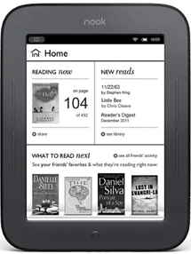 Buy the Nook E-book Reader From Barnes and Noble
